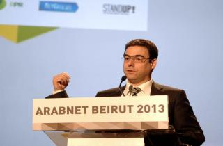 Sehnaoui in 2013 Arabnet conference: Lebanon can be the core of digital economy
